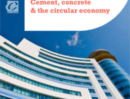 Cemento, hormigón y la economía circular (CEMBUREAU)