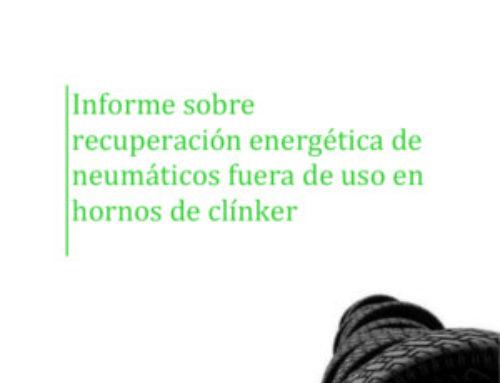 Informe sobre recuperación energética de Neumáticos Fuera de Uso en hornos de clínker