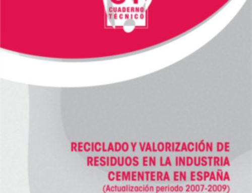 Reciclado y valorización de residuos en la industria cementera en España (Actualización año 2007-2009)