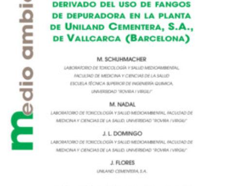 Análisis coste-beneficio derivado del uso de fangos de depuradora en la planta de Uniland Cementera, S.A., de Vallcarca (Barcelona)