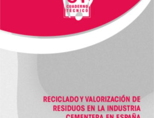 Reciclado y valorización de residuos en la industria cementera en España
