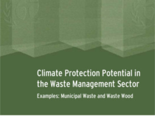 Climate Protection Potential in the Waste Management Sector